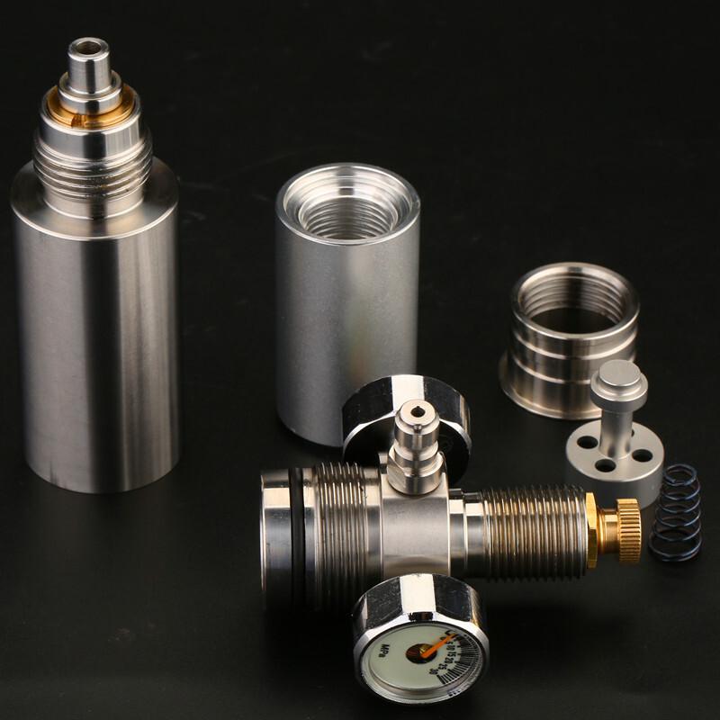 恒压阀一体气瓶高压气阀外调恒压阀配件30mpa非直喷 5图片