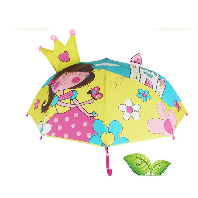 儿童雨伞幼儿园创意可爱卡通伞公主伞男女宝宝伞安全小孩小童伞儿童