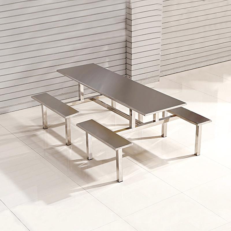 hiboss 办公家具办公桌椅 食堂餐桌椅 餐厅八人做餐桌