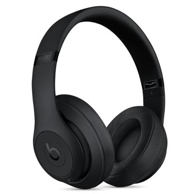 Beats Studio3 Wireless 無線錄音師3代頭戴式耳機 -啞光黑色