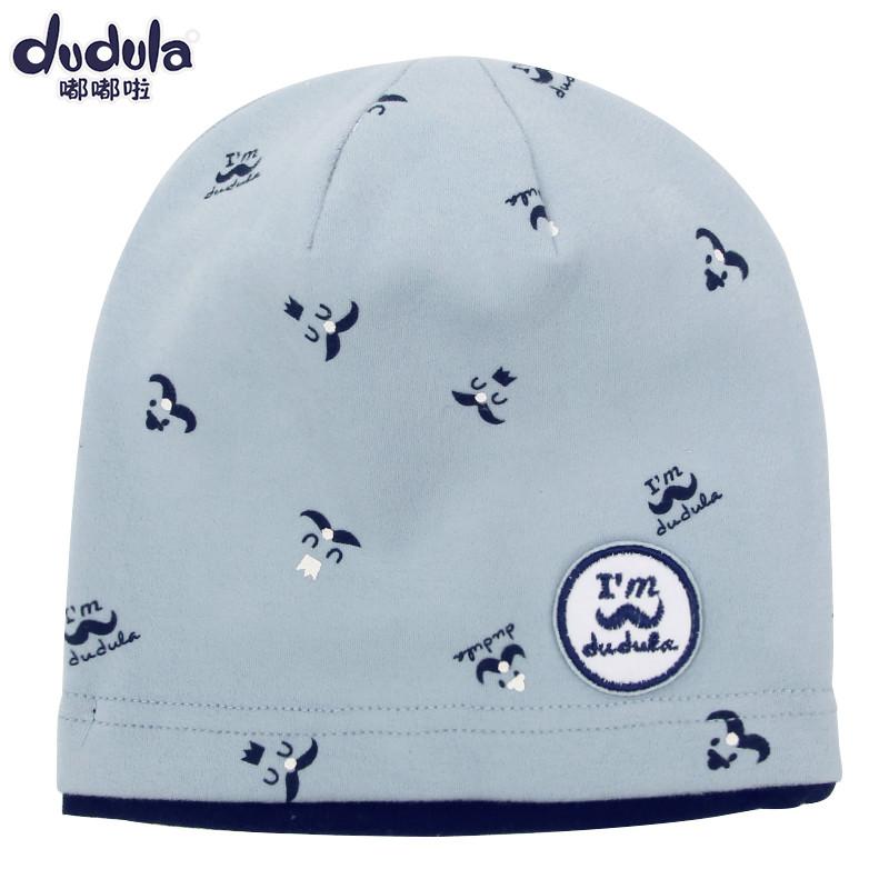 韩版儿童套头帽宝宝卡通棉帽子秋冬季男女童小孩可爱嘻哈帽_1 韩粉