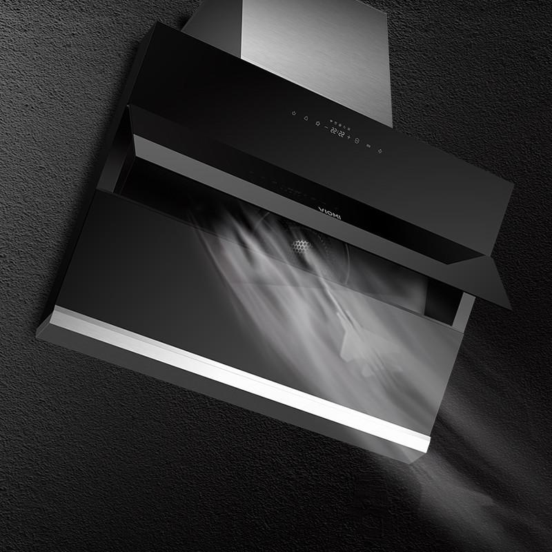 viomi/云米 油烟机HURRI 19立方大吸力侧吸式油烟机