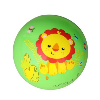 费雪(Fisher Price)儿童玩具球 宝宝小皮球 拍拍球(绿色 送打气筒)F0516H2