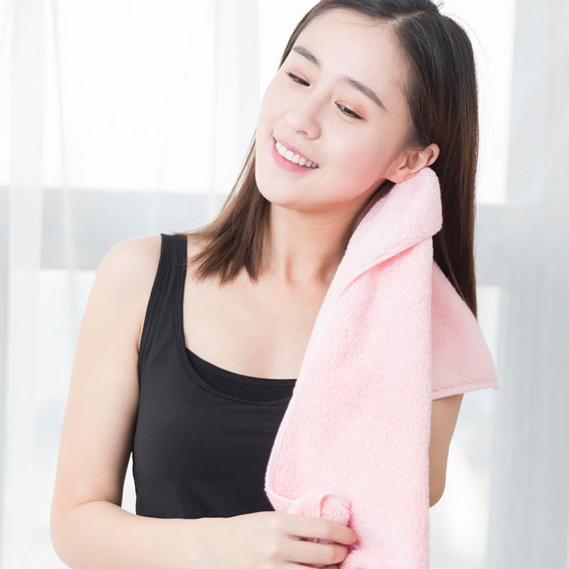 新疆阿瓦提长绒棉毛巾 粉色