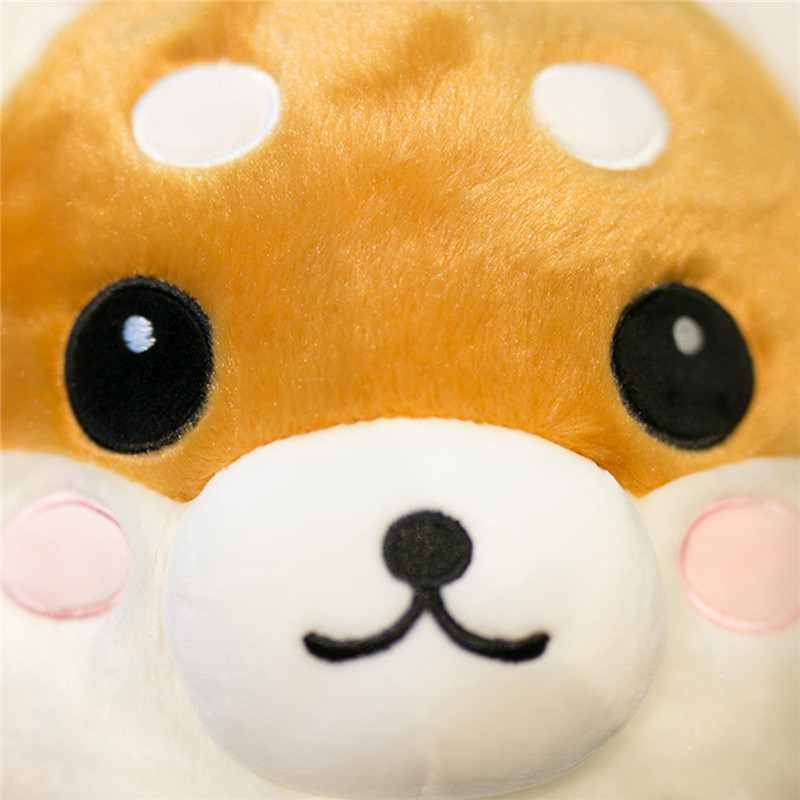 狗年吉祥物毛绒玩具狗仿真二哈哈士奇柴犬抱枕公仔韩国搞怪娃娃玩偶年