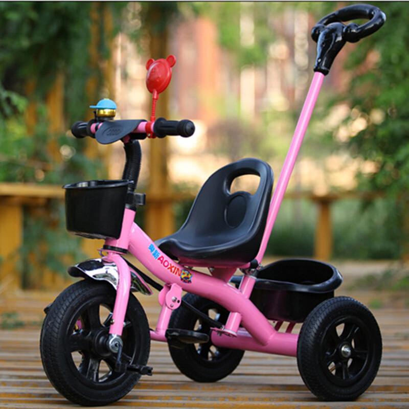 儿童三轮车脚踏车手推车婴幼儿1-2-3-5岁男女宝宝童车