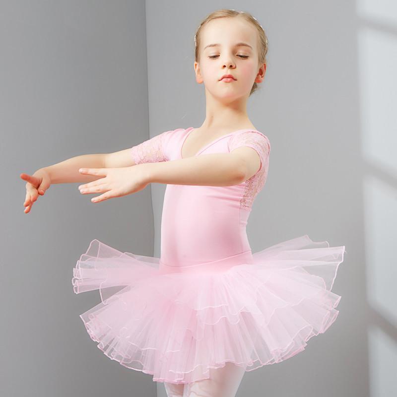 儿童舞蹈服装女童练功服幼儿芭蕾舞考级跳舞服小孩子体操服_2 120cm