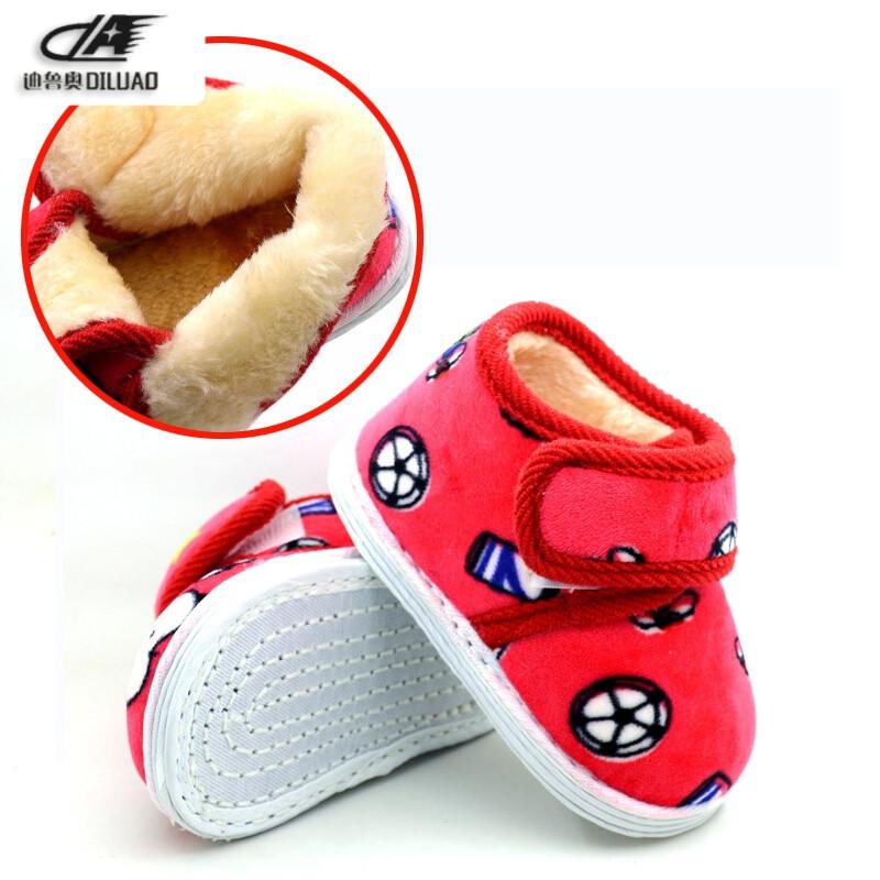 冬季宝宝手工布鞋婴儿千层底棉鞋加厚保暖童鞋男女儿童防滑学步鞋秋秋
