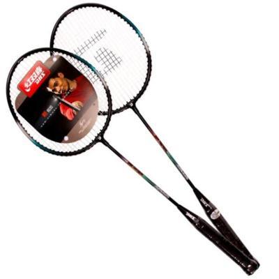 紅雙喜SHS羽毛球拍1010鋁合金材質對拍適用業余初級情侶、家庭使用