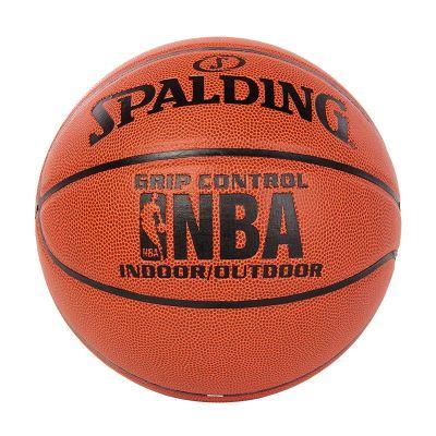"""斯伯丁SPALDING篮球室内室外通用篮球 74-221/74-604Y七号篮球 """"掌控""""比赛用球 全粒面 PU材质"""