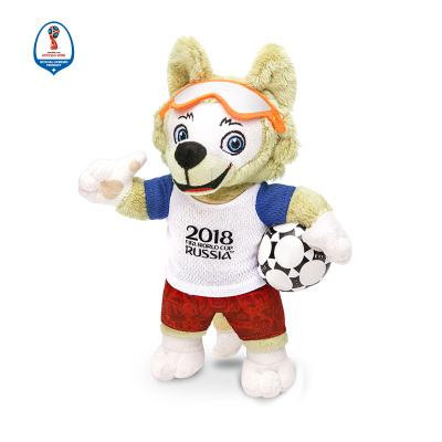 WORLD CUP 2018 25CM毛絨吉祥物102 拼接色