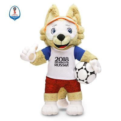 WORLD CUP 2018 45CM毛絨吉祥物103 拼接色