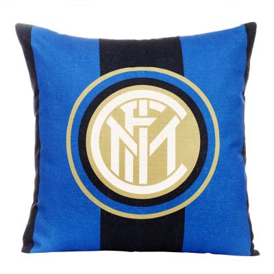 国际米兰俱乐部Inter Milan靠垫居家沙发客厅床头办公汽车可拆洗棉麻抱枕