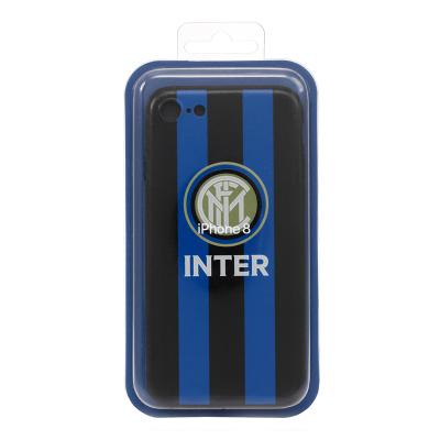 國際米蘭俱樂部Inter Milan 蘋果iphone7/8浮雕手機殼-經典LOGO款