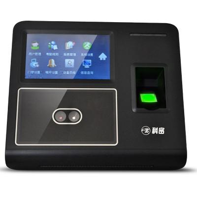 科密(Comet) DF702人脸指纹考勤机 面部考勤机 网络 ID卡 刷卡打卡机 网络U盘下载