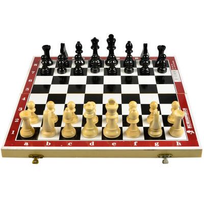 国际象棋实木套装便携可折叠式学生比赛AK-102