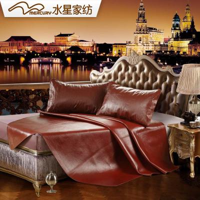 水星家紡牛皮席1.8米床雙人牛皮涼席夏季牛皮軟席子御瀾 席子純色床席
