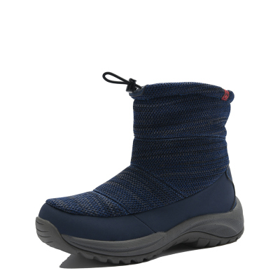 TN韓版戶外冬季毛絨保暖加絨東北中筒防水女士休閑棉鞋雪地靴子