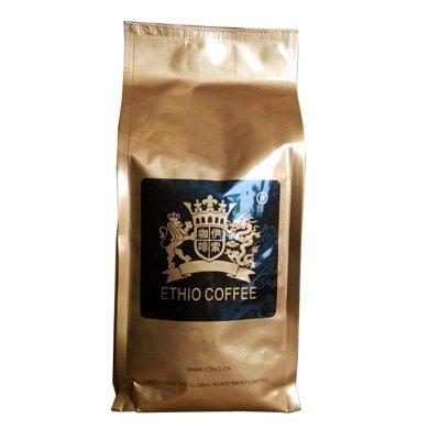 伊索咖啡Ethio Coffee 蓝山风味咖啡豆454g 阿拉比卡咖啡豆烘焙,可代磨咖啡粉