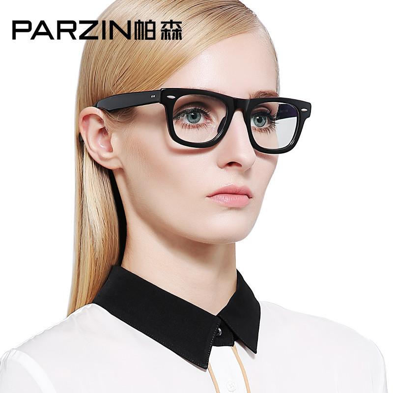 帕森 防辐射眼镜 男女款电脑护目镜 抗疲劳眼镜 时尚平光镜 2140