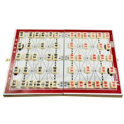 ENPEX乐士木连盘便携军旗陆战棋A-37成人儿童益智学习比赛用棋