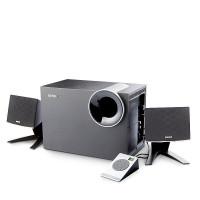 漫步者R208PF 多媒体电脑音箱 支持插卡插U盘2.1木质重低音炮音响