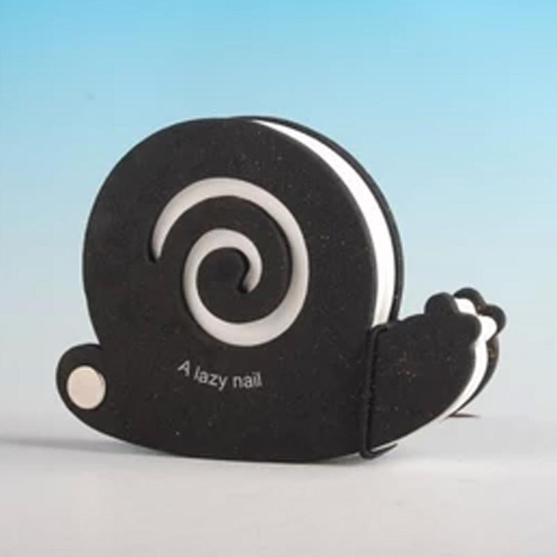 硬海棉封面纯白页超可爱q版小动物便签纸 蜗牛