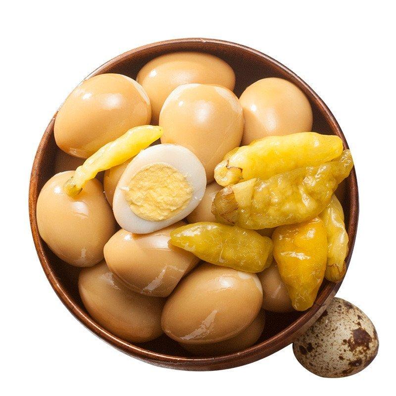我想静静暴走�_润成蛋小妹泡椒味鹌鹑蛋32g 独立小包装美食 休闲零食