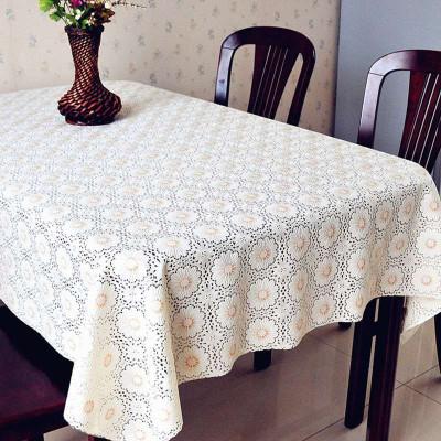 【年货节 85折】凡轩 PVC防水餐桌布茶几台布桌布防水防烫防油免洗欧式长方形餐桌布桌垫