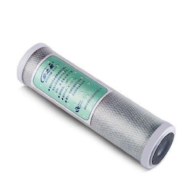 安之星 平壓式10寸塊狀活性炭濾芯 1支裝 廠家直銷品質保證