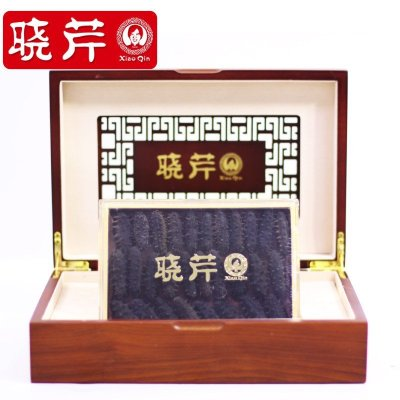 晓芹海参 干海参海参干货 XiaoQin 海鲜 大连刺参88克28-32头 海参礼盒 盒装