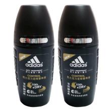 阿迪达斯adidas男士走珠香体液-活力50ml*2支