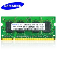 三星(SAMSUNG) 1G DDR2 800 笔记本内存条 PC2-6400