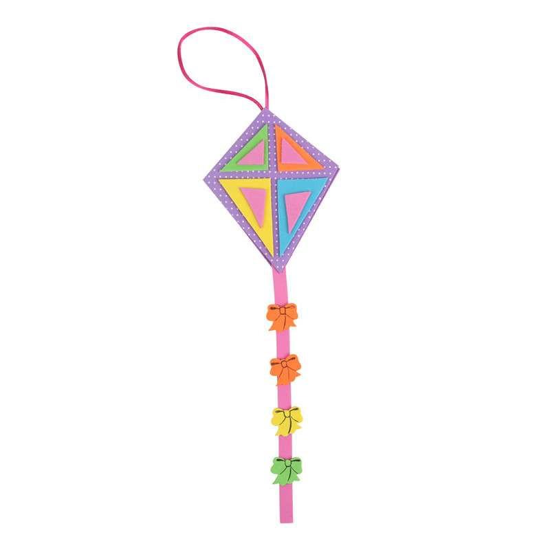 dms大贸商 eva手工制作立体风筝组合套 儿童diy创意粘