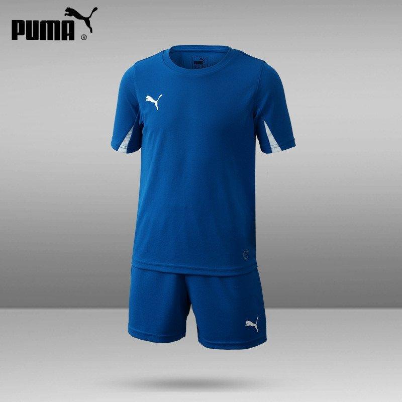 puma/彪马足球服儿童套装teamsport新款703106定制组队服青少年透气