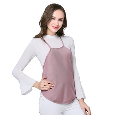 婧麒防輻射服孕婦裝正品孕婦防輻射服肚兜內穿圍裙銀纖維衣服四季適用 jc8008