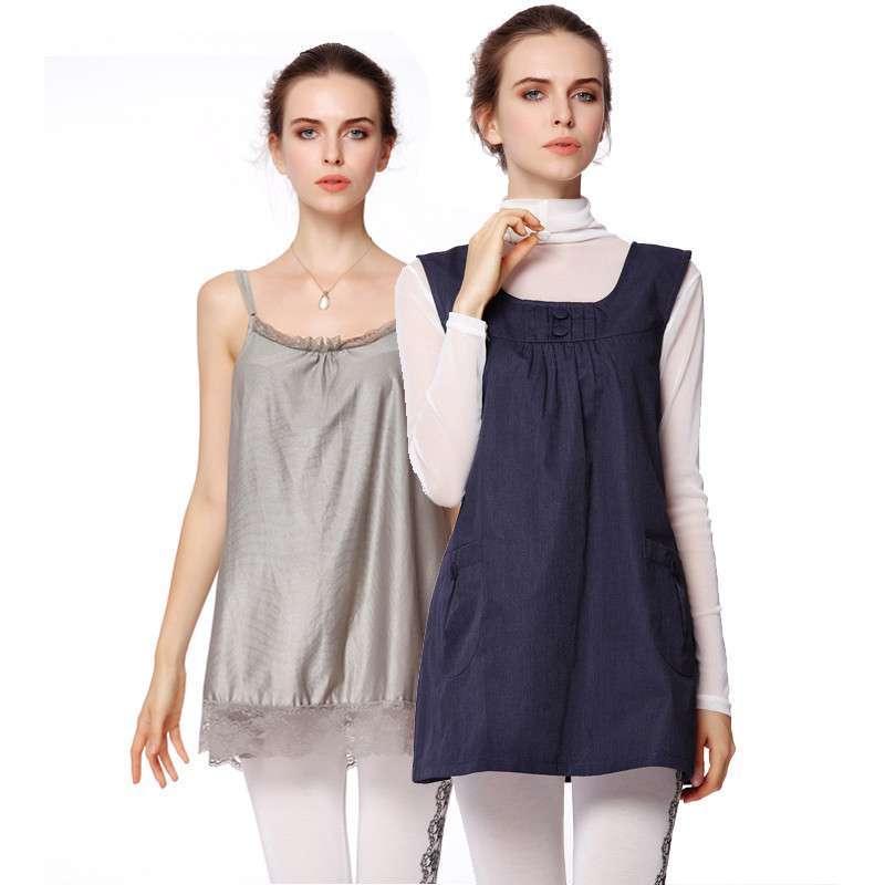 孕妇��.�yd�an:/���y.b_防辐射服孕妇装马甲衣服孕妇防辐射服银纤维吊带jc8301b
