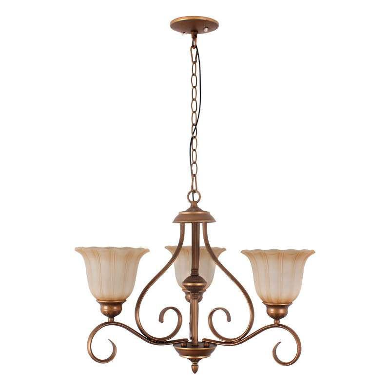 罗莎蒙德 欧式铁艺复古简约吊灯 欧式奢华客厅卧室餐厅灯 017-3图片