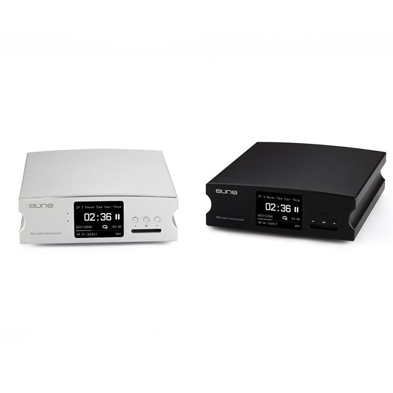 aune x5s 24bit/dsd无损音乐hifi数字多格式播放器解码器 银灰色 包