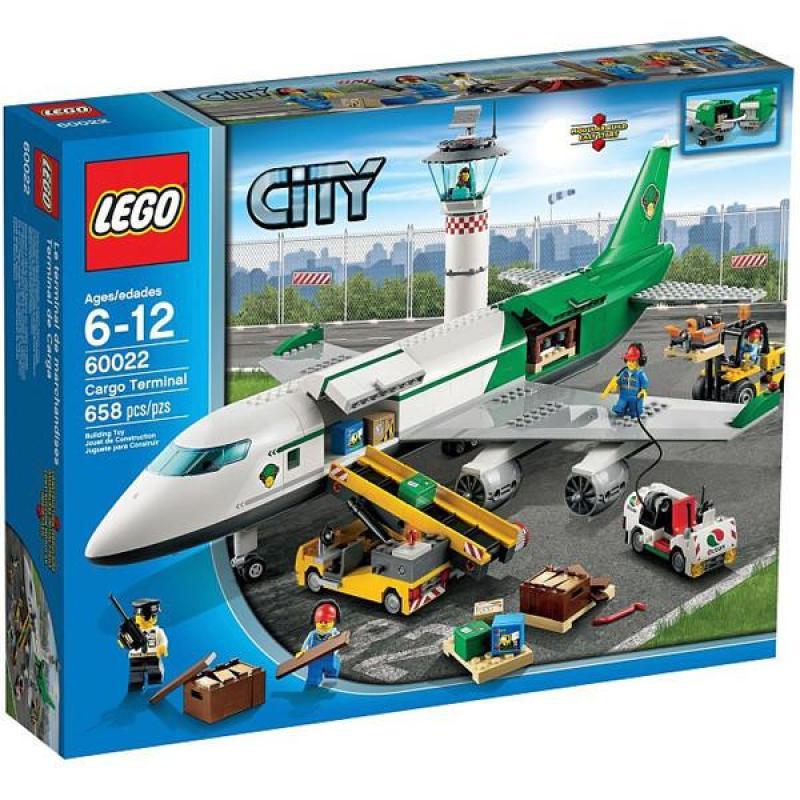 乐高lego 60022 城市系列 货运码头 大飞机 new 2013