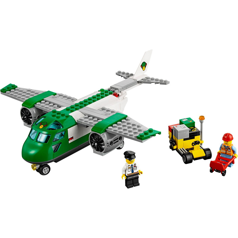 lego/乐高 60101 机场货运飞机 city城市系列 早教 拼插积木 玩具 5