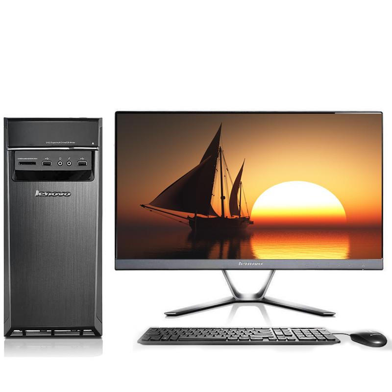 联想(lenovo)h5060 台式机电脑整机 双核g4400 4g 1tb图片