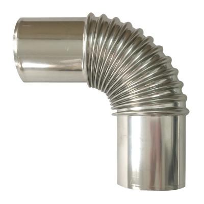 百乐满(Paloma)不锈钢弯头 弯烟管 16-24升对衡机弯管1025抽油烟机管