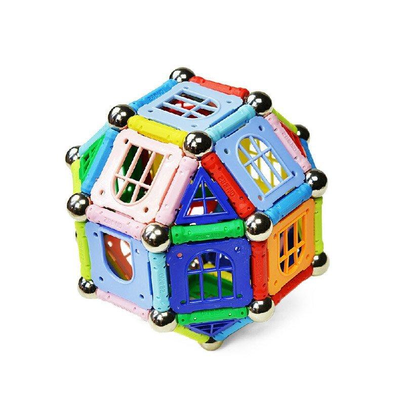 磁力片房子图解