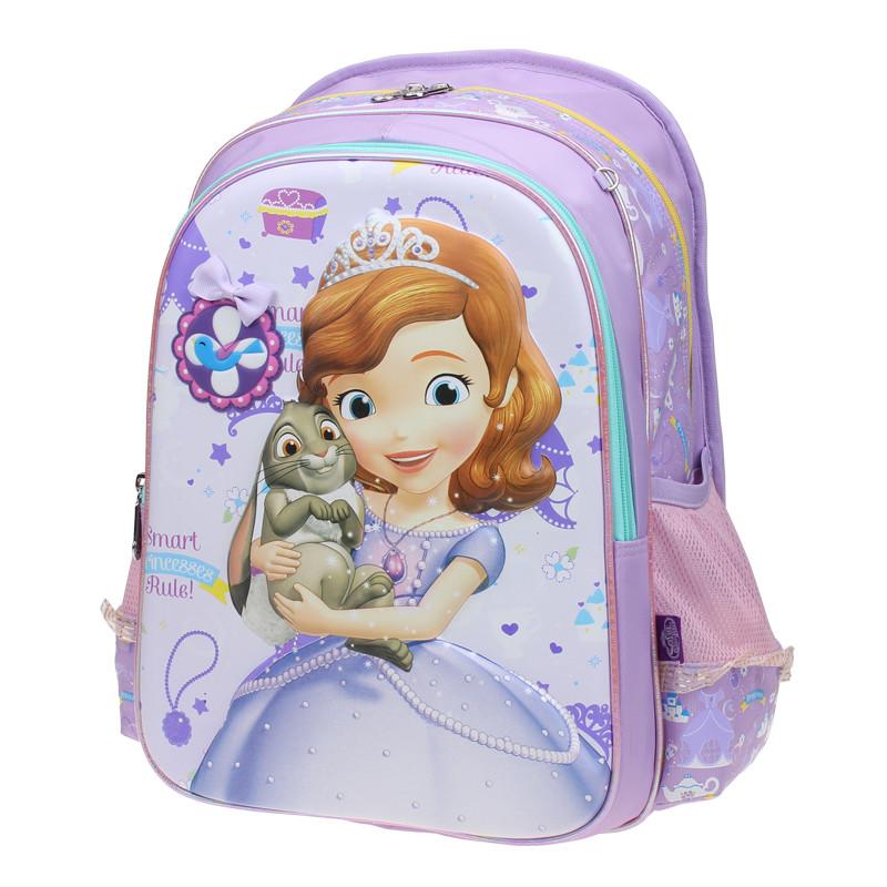 disney/迪士尼 小公主苏菲亚小学生书包2-5年级女孩子