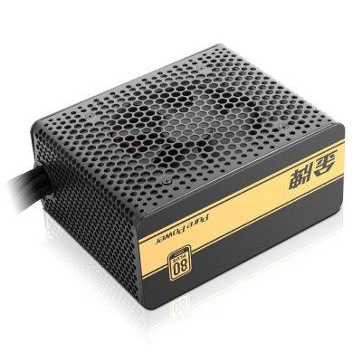 先馬(SAMA)550 額定功率550W(80PLUS認證/主動式PFC/固態電容)ATX電源 臺式機電源