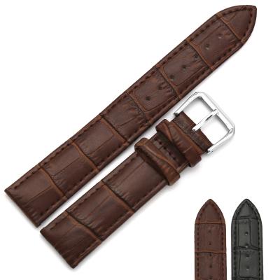 手表 表帶 嘉年華CARNIVAL皮表帶鋼表帶換皮帶針扣20mm 棕色 黑色可選一表兩戴