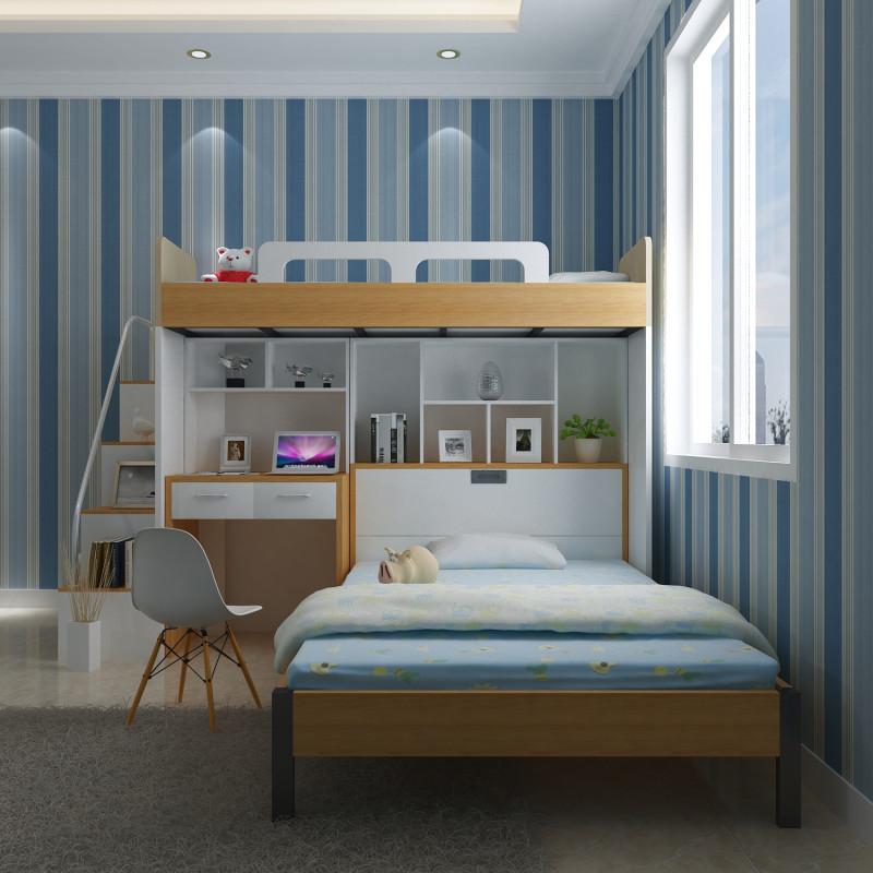 多功能子母床衣柜电脑桌组合高低床儿童成人上下铺双层母子床