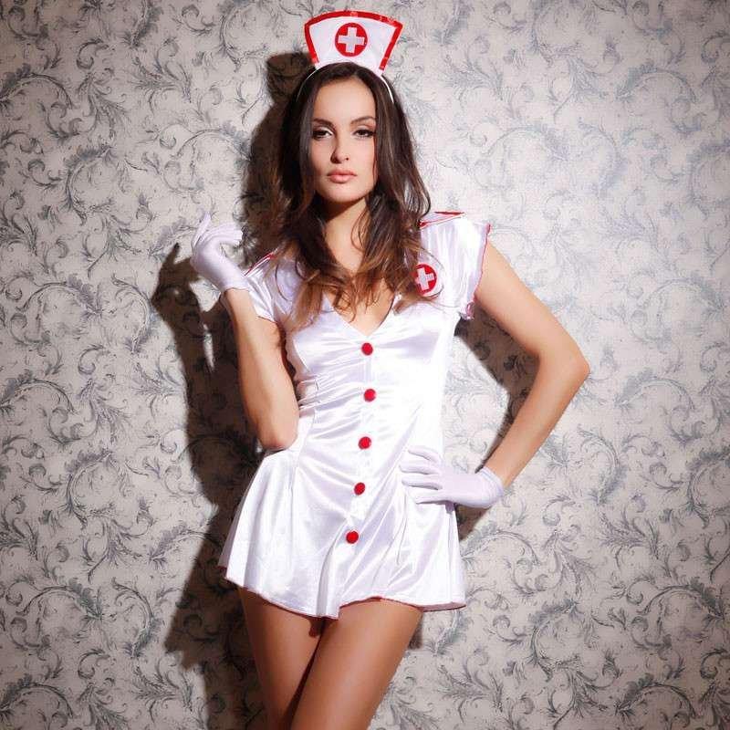 装角色扮演制服内裤价格套装护士服短裙内衣连衣裙情趣内衣派对v内裤润滑油连体情趣用品图片