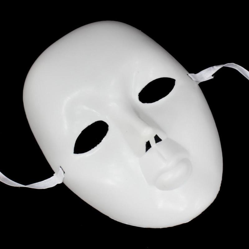 仕彩diy面具 街舞面具 白色手绘面具 鬼步面具 bboy风格面具